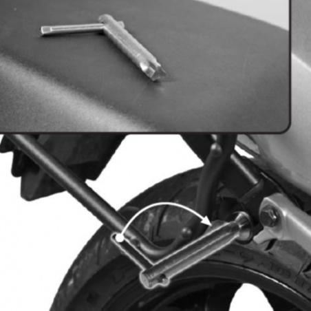 D321S plexi kouřové Honda...