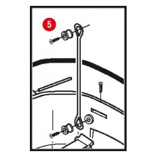 E68 opěrka pro kufr GIVI E...