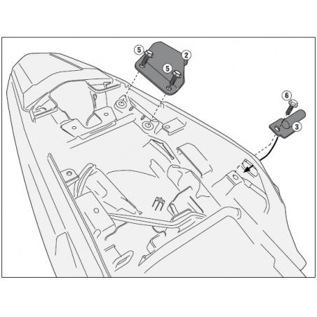 SRA5102 special rack BMW R...