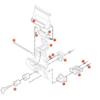 3101DT plexi čiré Suzuki DL...