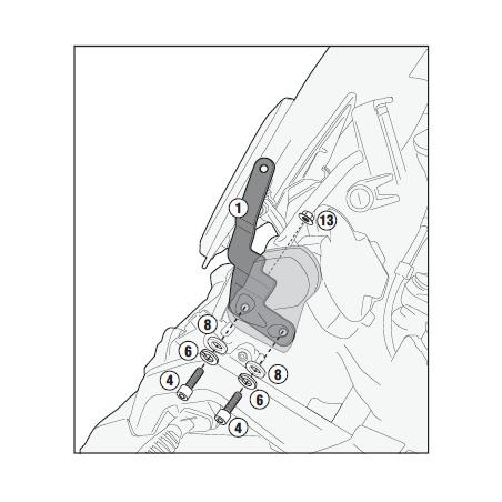 D2102ST plexi čiré Yamaha...