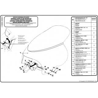 A123 čiré plexi pro Yamaha...