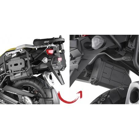 Z761NR kovová západka kufru...
