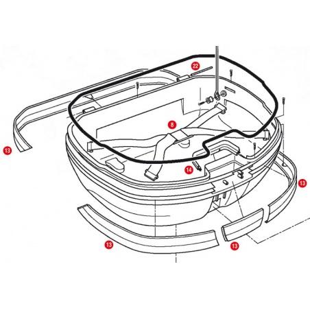 E94V brzdové světlo pro...