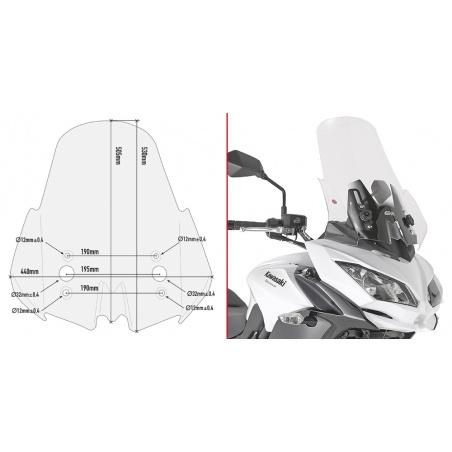 D5121ST plexi čiré BMW C...