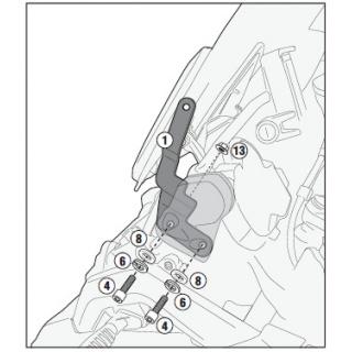 PL1156 trubkový nosič Honda...