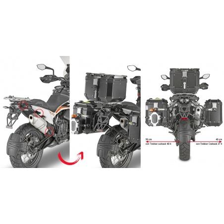 PL1158 trubkový nosič Honda...