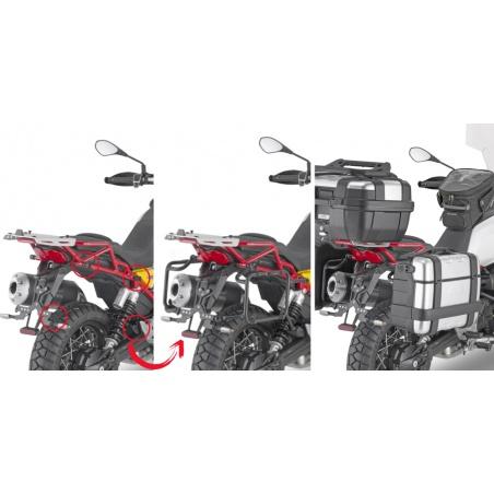 OBKN48BR černý pravý kufr...