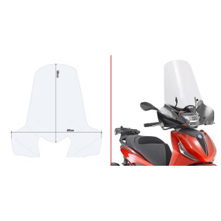 D2145S plexi kouřové Yamaha...