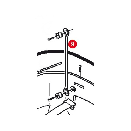 TN451 padací rámy Honda CB...