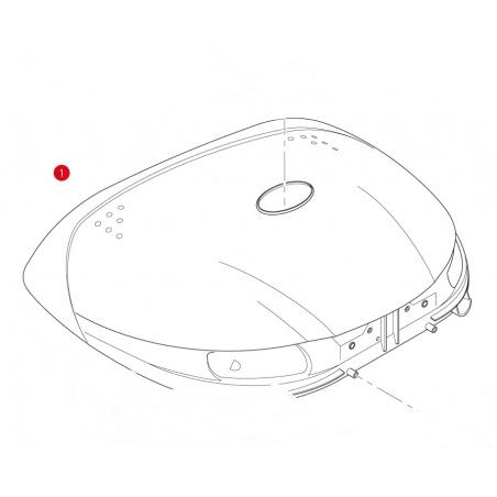 E225M plotna Honda XL 700V...