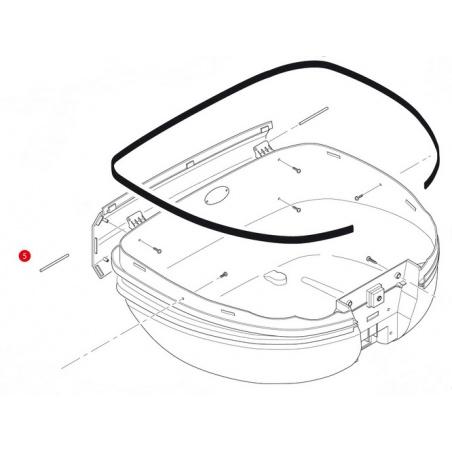 D407ST plexi čiré Kawasaki...